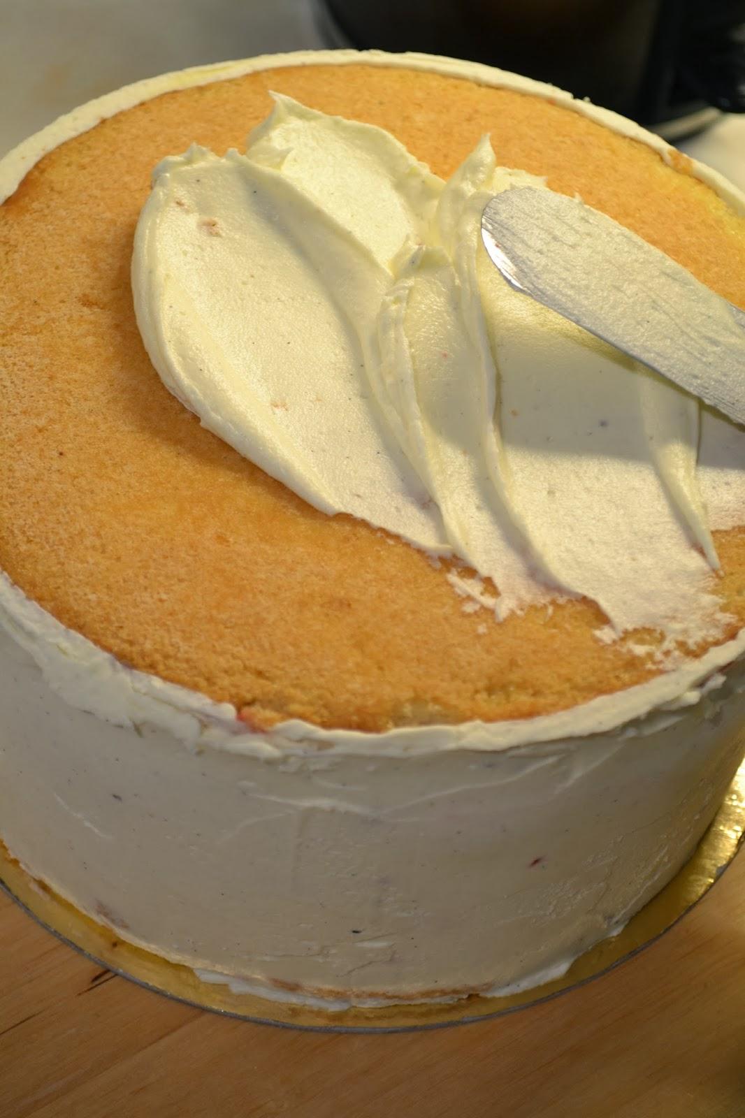 täcka tårta med marsipan