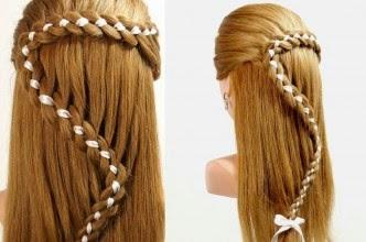 Foto Model Rambut Dikepang Klasik Cantik