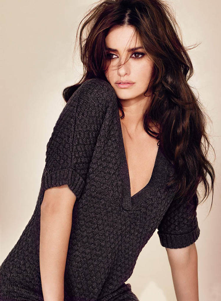 Fashionable Celebrity Hairstyle Penelope Cruz 21