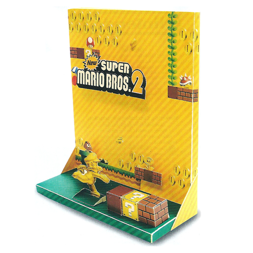 New Super Mario Bros 2 Paper Diorama