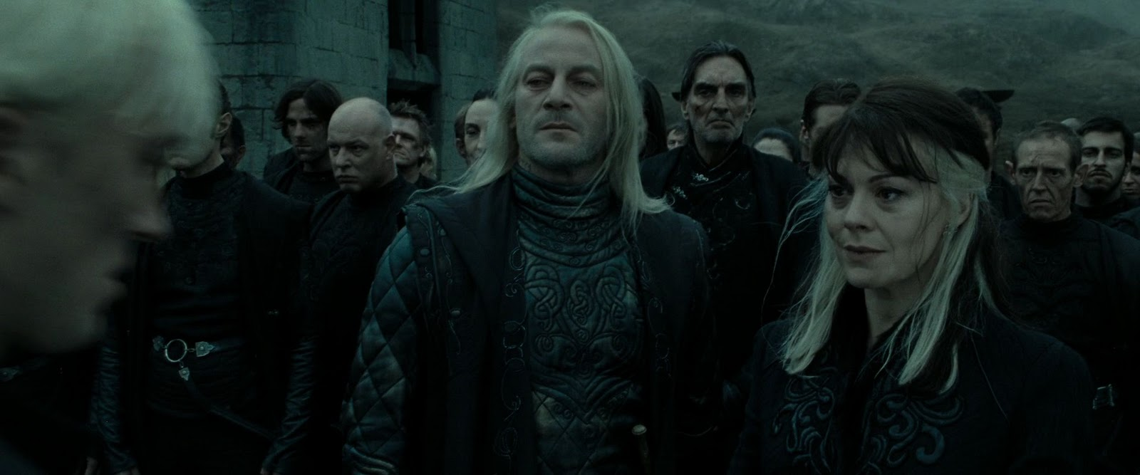 Harry potter and the deathly hallows part 2 malfoy s family reunited