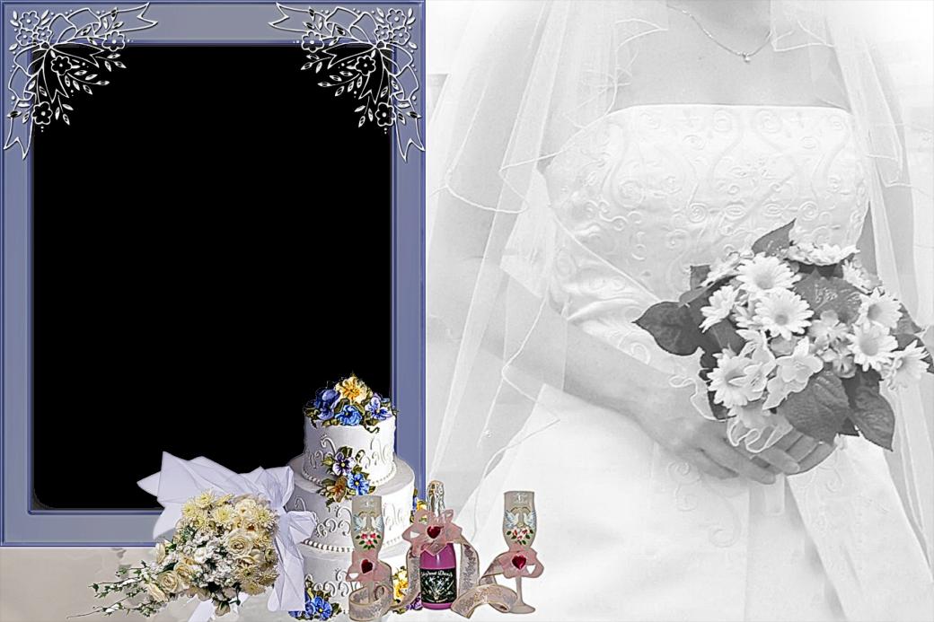 preciosos marcos para fotos de boda o matrimonio marcos gratis para