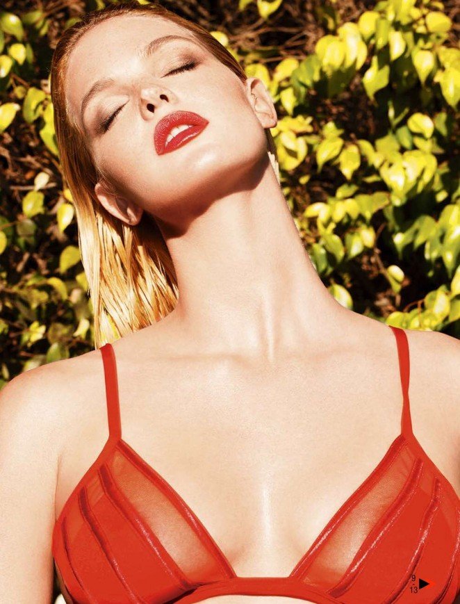 Erin Heatherton – GQ Spain Magazine (July/August 2015)