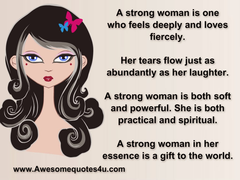 strongs women A strong woman just has a certain vibe, and emanates confidence and assertiveness wherever she goes here are 6 ways to become a strong woman.