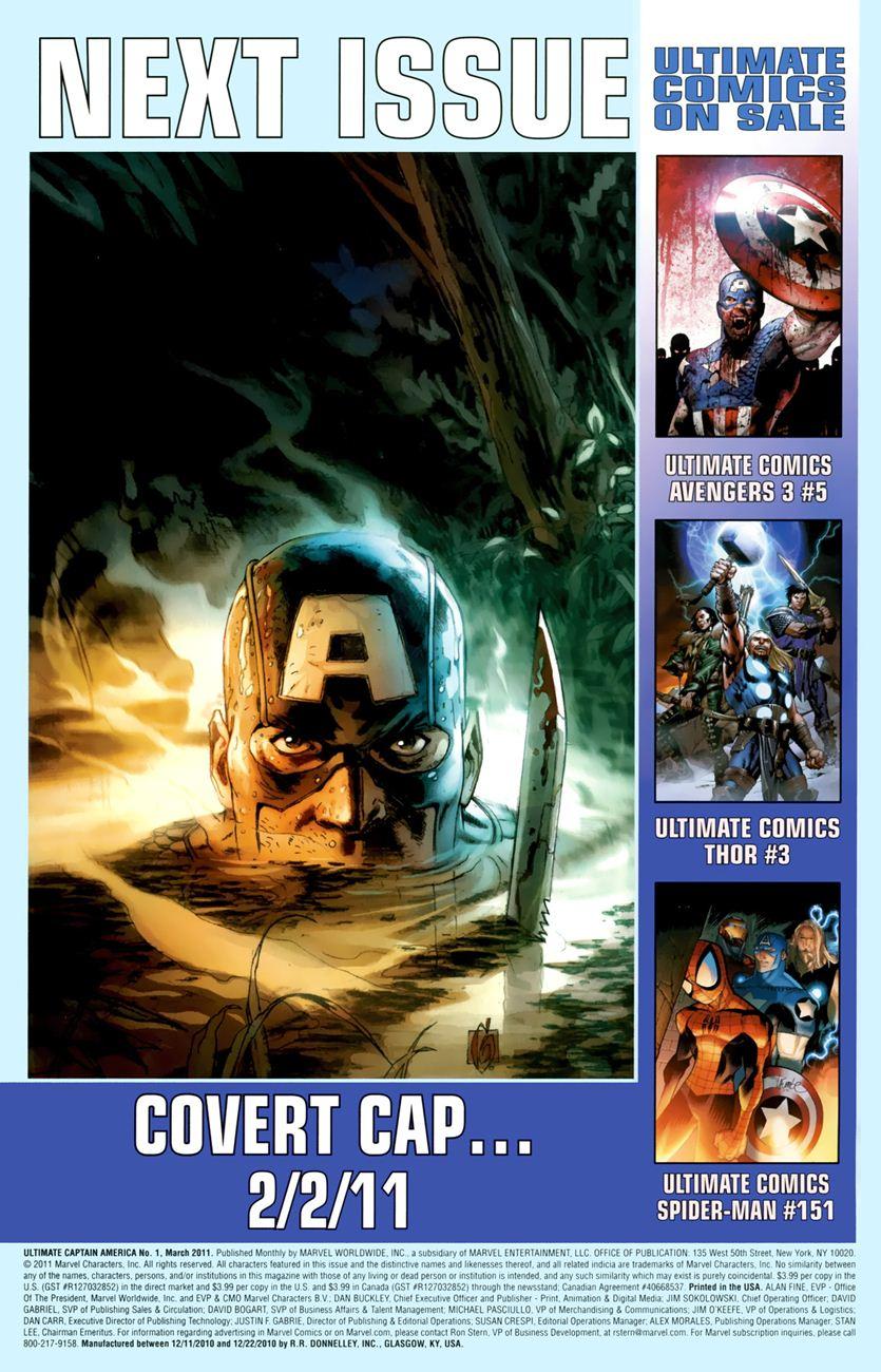 Ultimate Captain America chap 1 - Trang 27