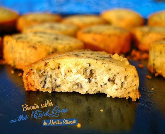 biscuits sablés au thé earl grey de martha stewart