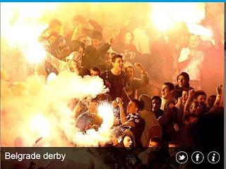 inovLy media : Belgrade derby