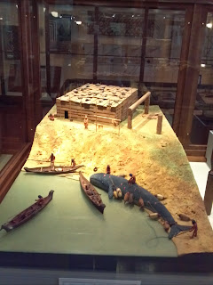 Nootka whaling diorama