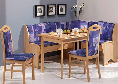 Eethoek (eettafel met stoelen)  Wonen 2017