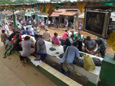 Serra da Carnaíba e o comércio de esmeraldas