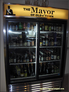 Bottled beer selection