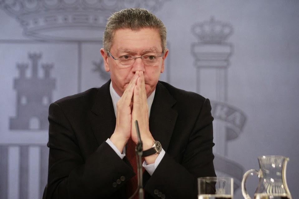 El Ministro de Justicia, Alberto Ruiz Gallardón, exige un Juicio Justo de Rumasa