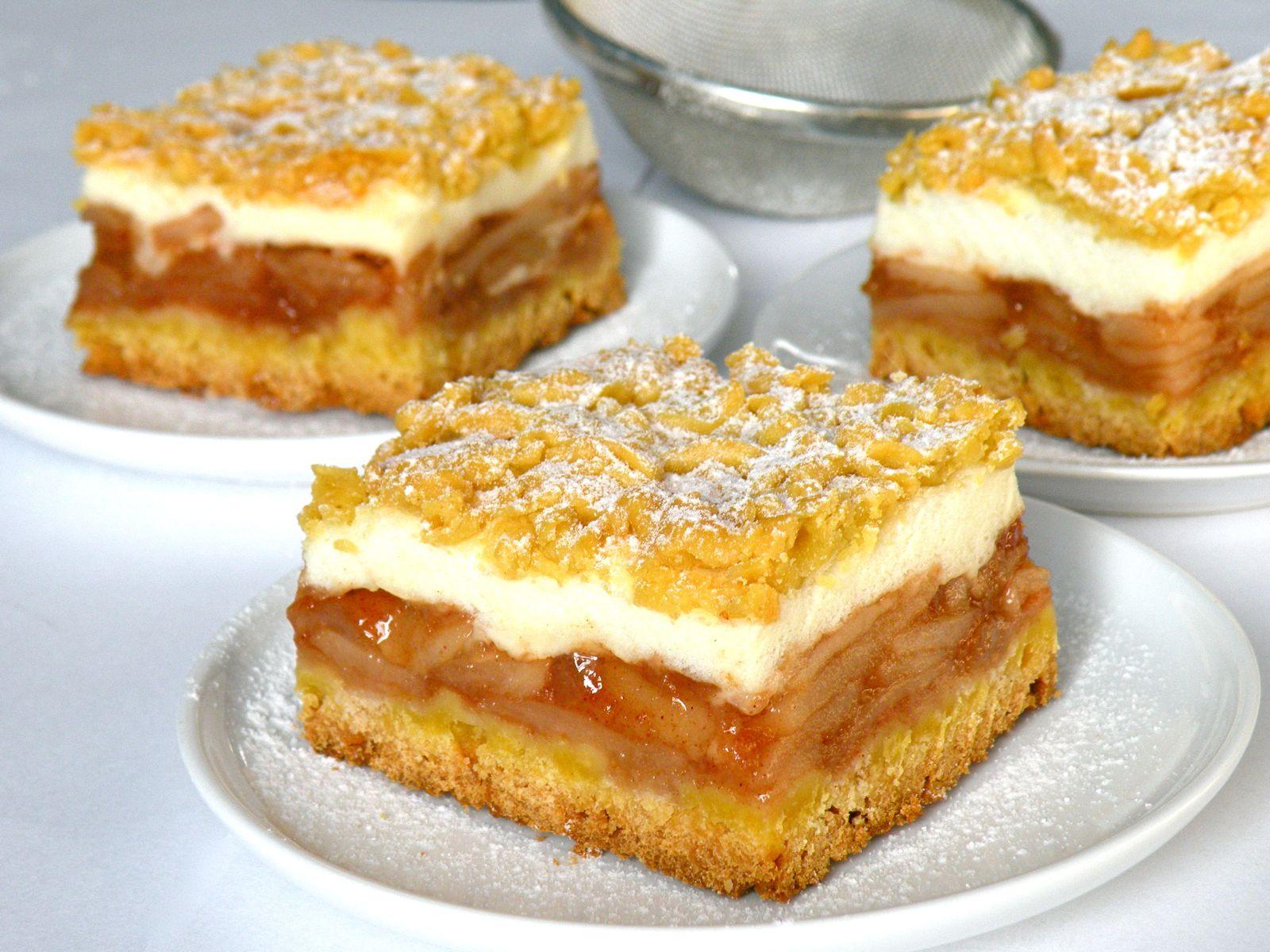 "Szarlotka Bake&taste: szarlotka na kruchym cieście (""najlepsza na ..."