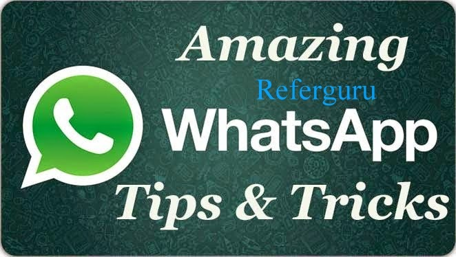 Whats App Amazing Tricks and Tips for 2014 that every Whats App user Must Know