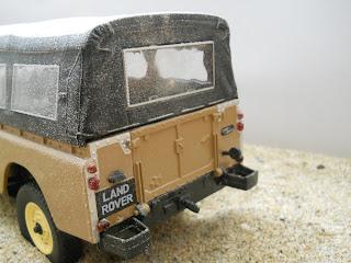 Land Rover 109 die cast