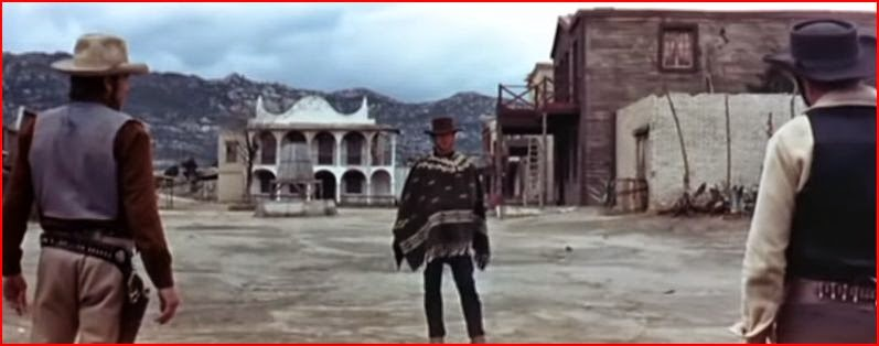 Clint Eastwood A Fistful of Dollars randommusings.filminspector.com