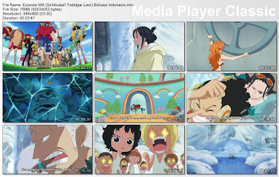 Download Film One Piece Episode 585 (Sichibukai! Trafalgar Law!) Bahasa Indonesia