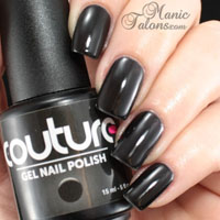 Couture Gel Polish Little Black Dress Swatch