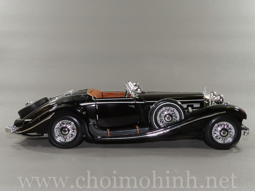 Mercedes-Benz 500 K TYP Specialroaster 1936 1:18 Maisto side