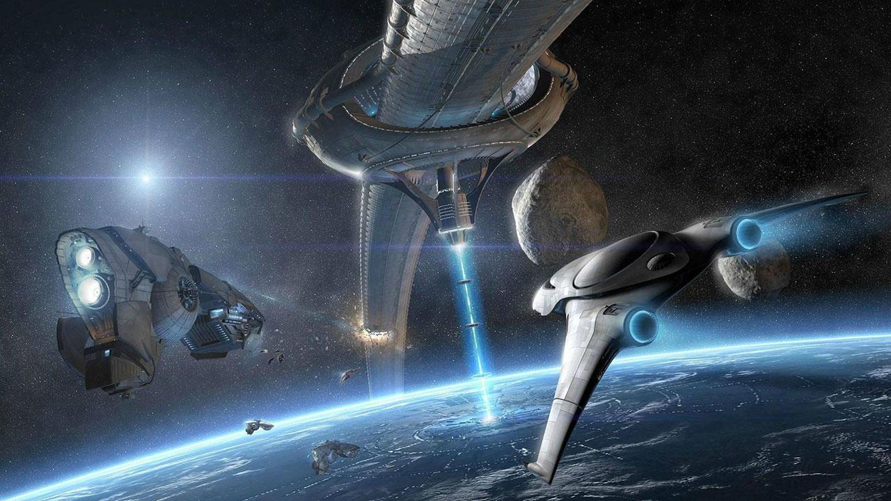 Star Citizen корабли в космосе