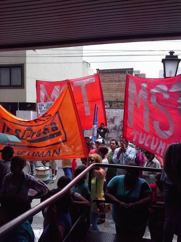 Marchamos para pedir justicia en Tucumán
