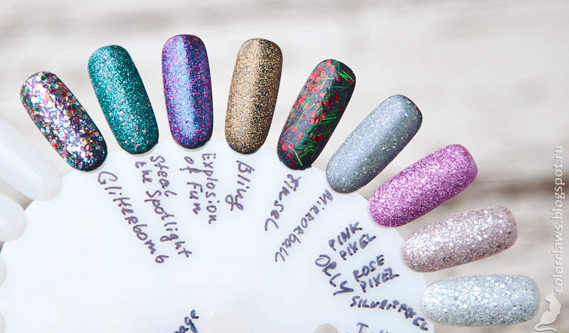 Orly Holiday 2014 Collection, Orly Mega Pisel FX