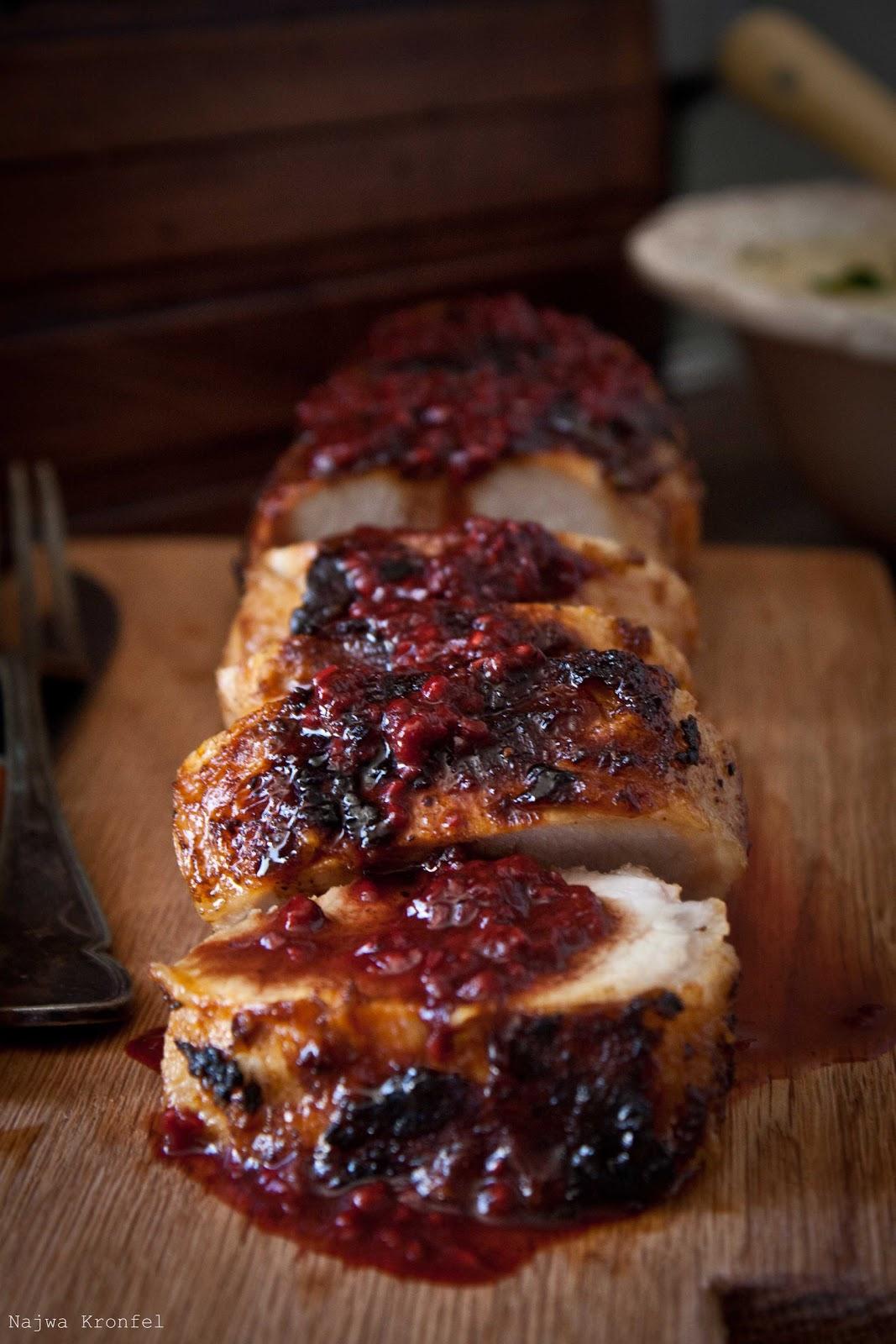 Pork loin cranberry glaze recipe