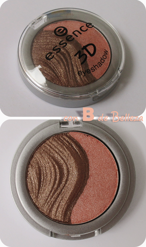 3D Eyeshadow metalizada