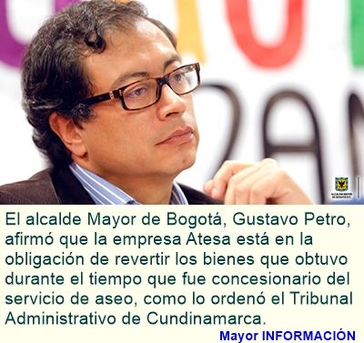 BOGOTÁ: Las concesiones no son de operadores privados: Petro
