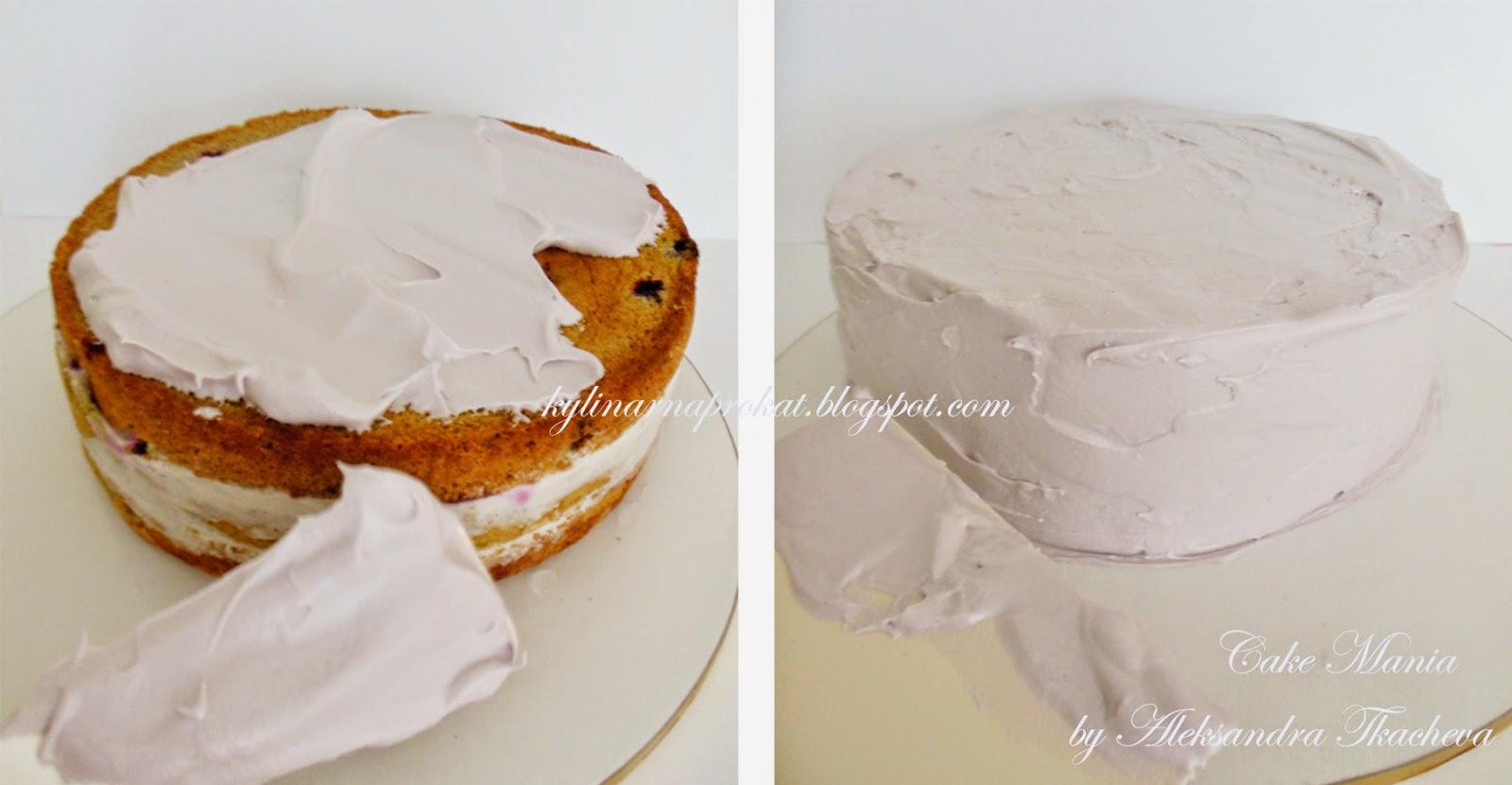 Рецепт крема для украшения торта пошагово
