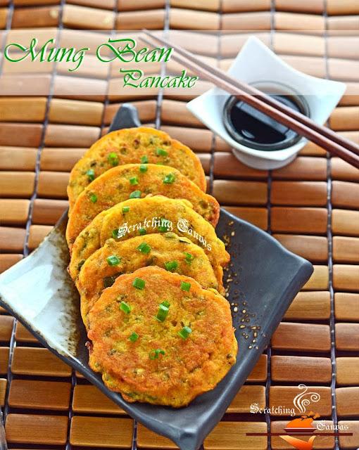 Mung Bean Breakfast Pancake