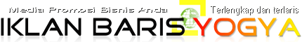 Iklan Baris Yogyakarta | Terlengkap  Terlaris | Promosi Usaha