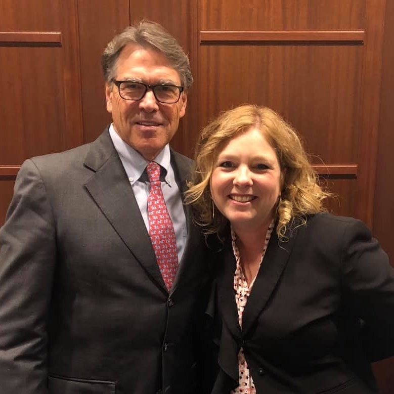 Secretary (forever Governor) Rick Perry