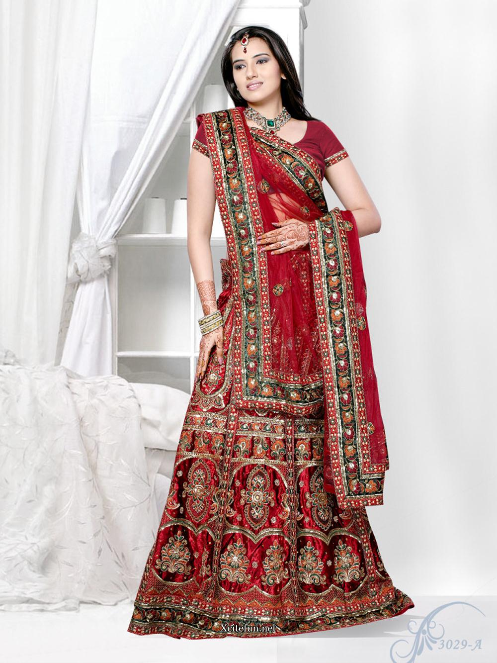 Bridal Red Lehenga Choli Collection