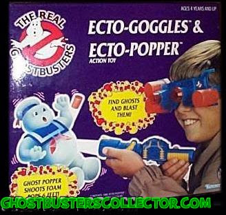 Kenner The REAL Ghostbusters Ecto-Goggles & Ecto-Popper Roleplay Toy