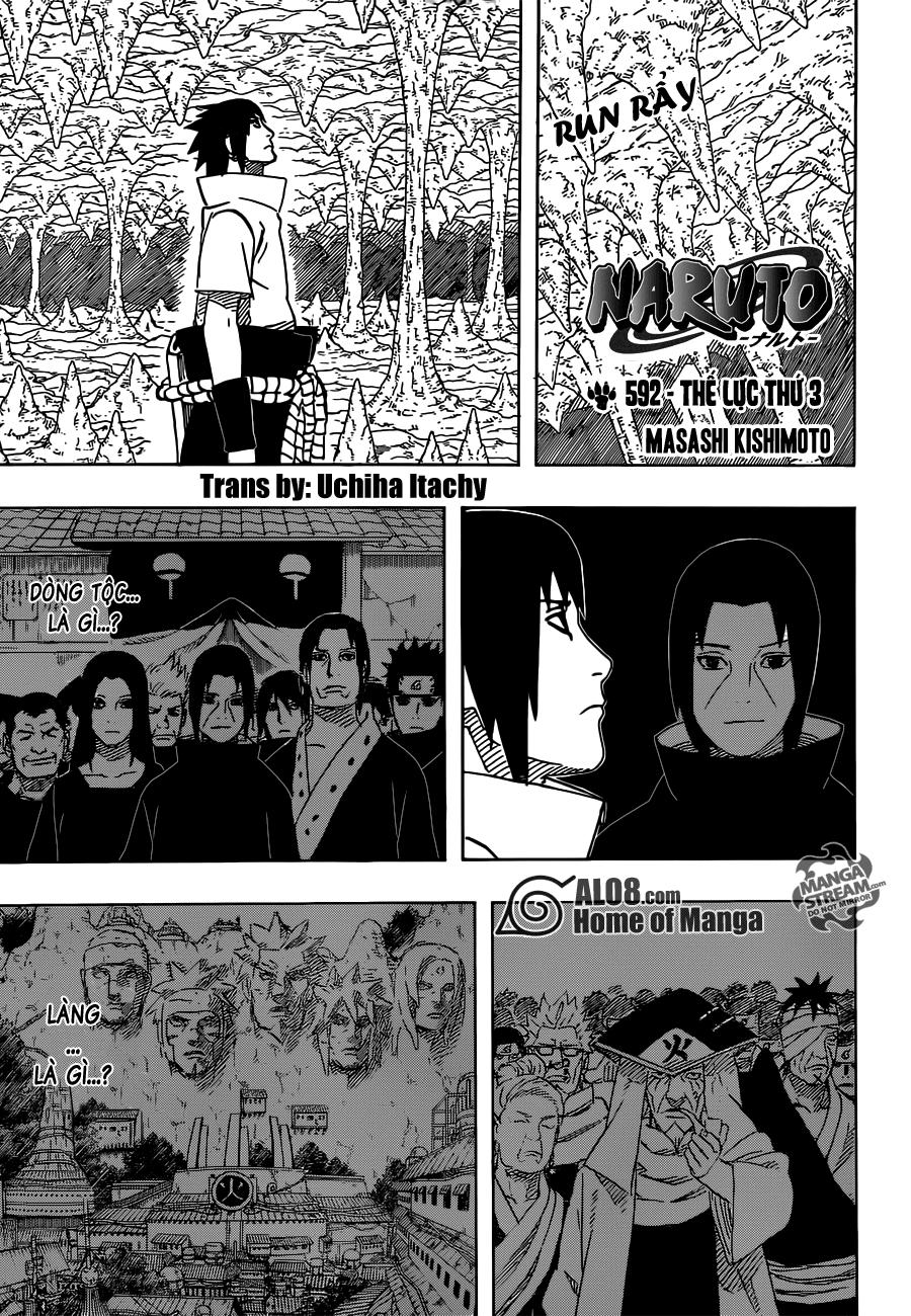 Naruto chap 592 Trang 1 - Mangak.info