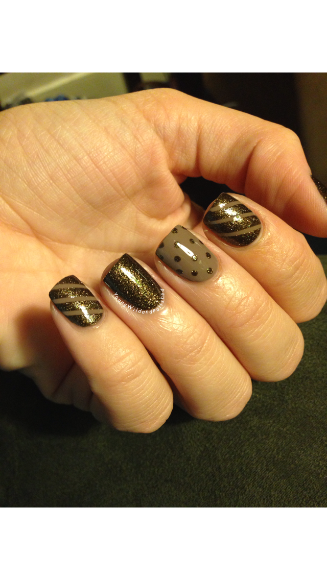 Young Wild And Polished Opi Liquid Sand Nail Artd Giving Thanks