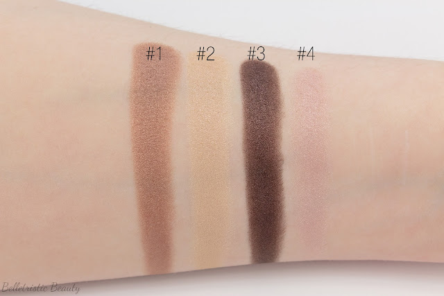 Chanel Poésie 234 Les 4 Ombres Multi-Effect Quad swaches, Summer 2014, Collection, in studio lighting