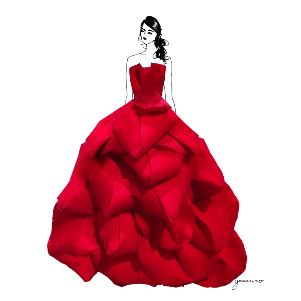 21-Red-Rose-Nature-and-Grace-Ciao-Design-and-Draw-Dresses-with-Petals-www-designstack-co
