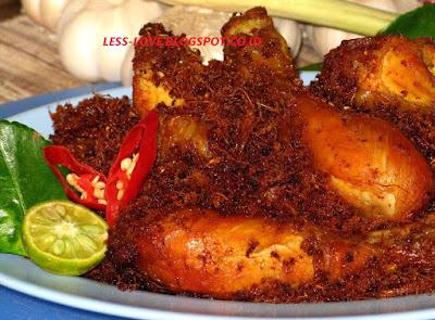 Resep Ayam Goreng Lengkuas Sajian Sedap dan Enak