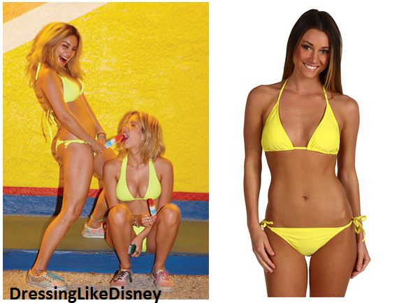 Vanessa Hudgens And Ashley Benson: Spring Breakers Inspired Yellow