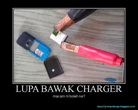 LUPA BAWAK CHARGER