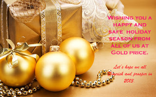 Happy Holiday Season from Goldprice.org