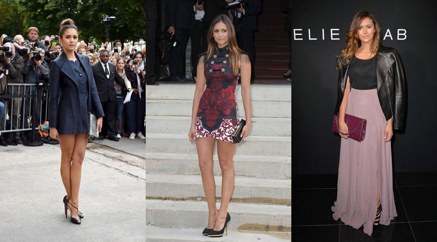 Nina Dobrev Paris Fashion Week Outfits Magazines Dreams