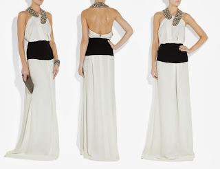 vestido de fiesta de Victoria Beckham