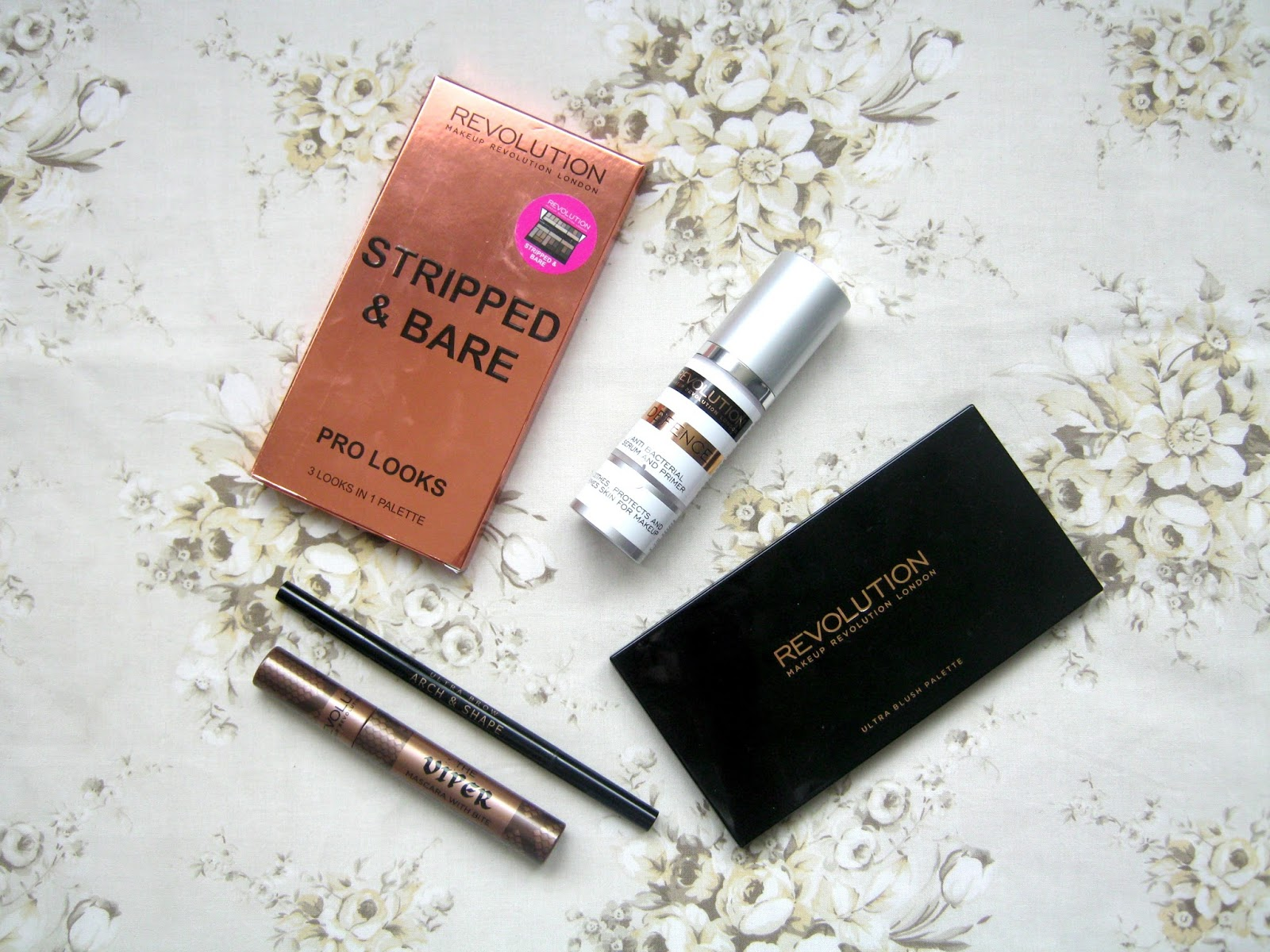 Makeup Revolution Ultra Blush Palette in Golden Sugar* | £6
