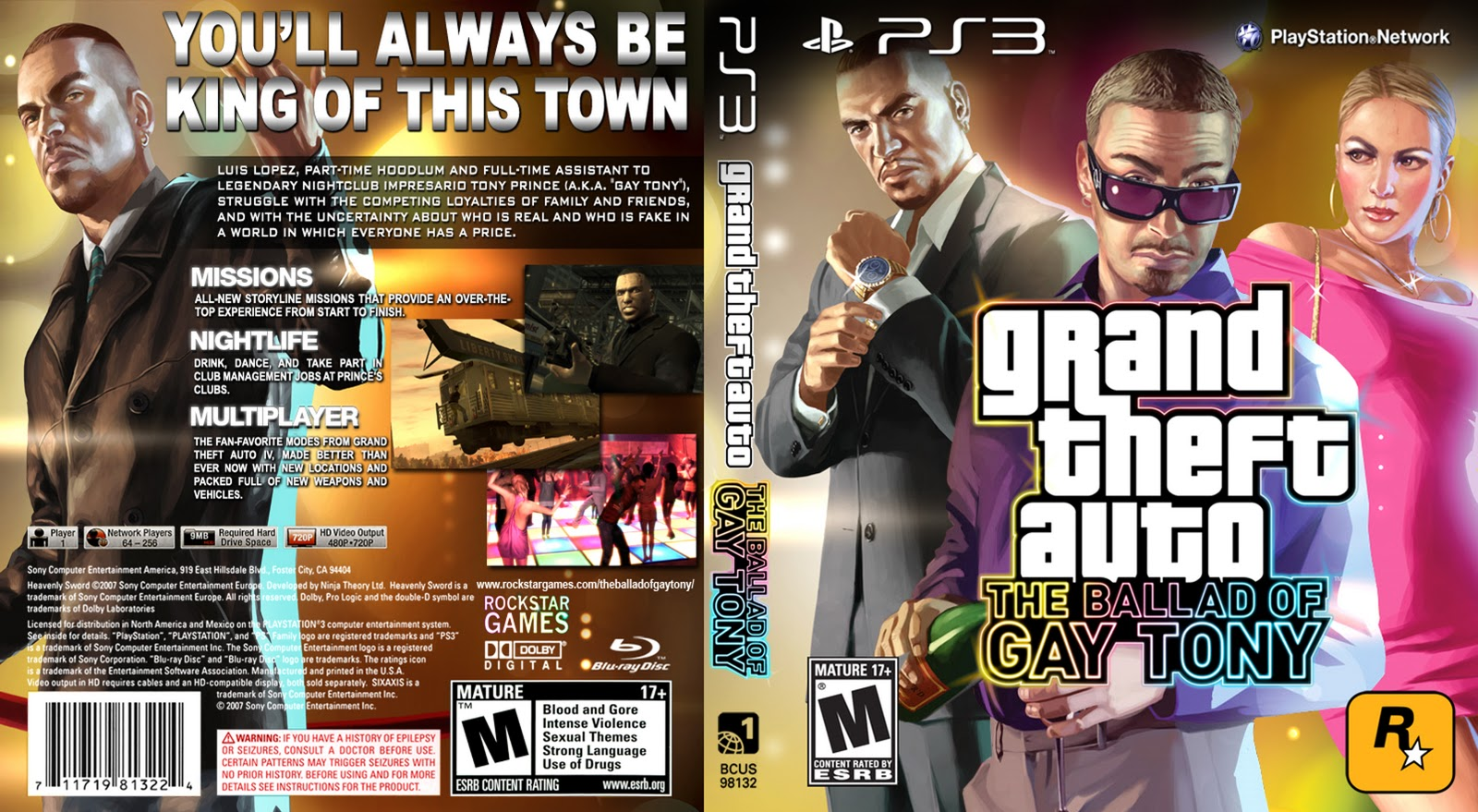 Gta iv ballad of gay tony release date
