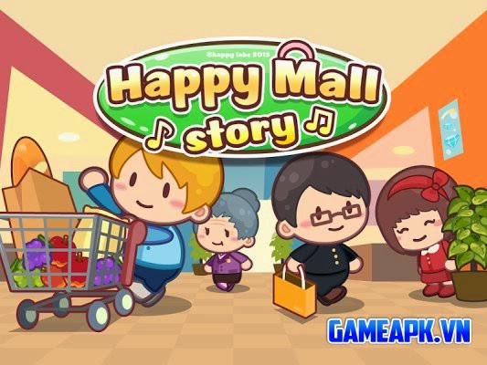 Happy Mall Story: Shopping Sim v1.3.1 hack full tiền cho Android