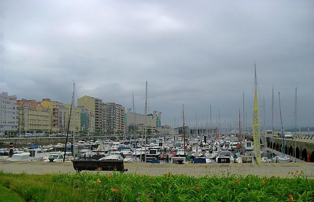 Darsena de Puertochico en Santander