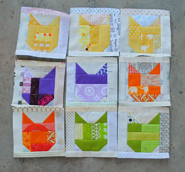 catvent quilt along low volume